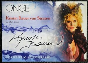 Once-Upon-a-Time-A8-Kristin-Bauer-Maleficent-Autograph-Auto-Trading-Card-Disney