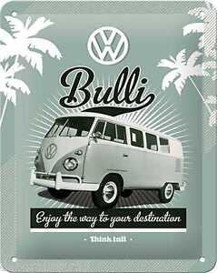 VW Garage Metal Postcard Great Gift!! Mini Sign