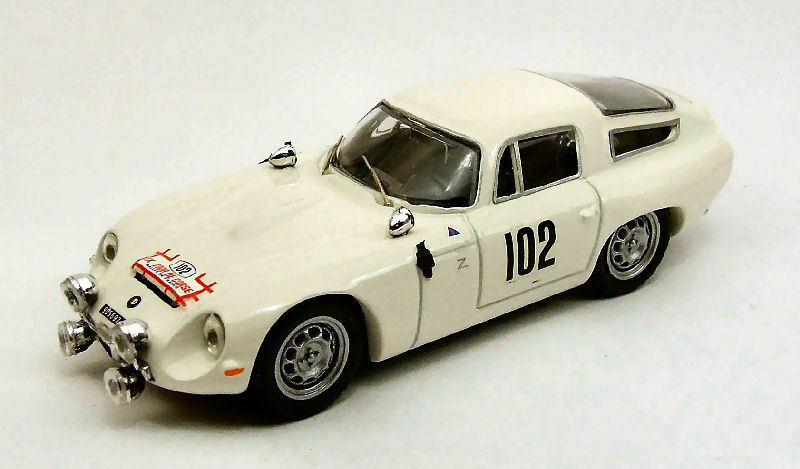 Alfa Romeo Tz1  102 Tour De Corse 1964 Richard    Rosinski 1 43 Model BEST MODELS  différentes tailles