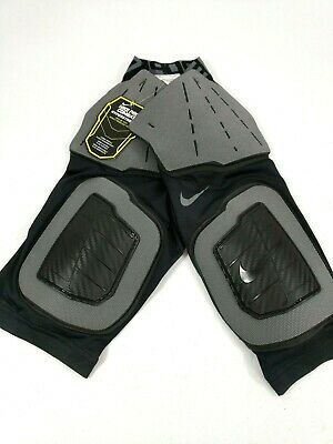 NWT Nike S /& M Boys ProCombat Hyperstrong Compression Padded FootBall Shorts