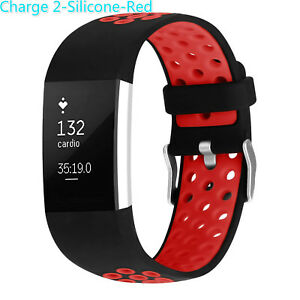 Replacement-Silicone-Wrist-Sport-Watch-Bands-Strap-For-Fitbit-Charge-2-Wristband