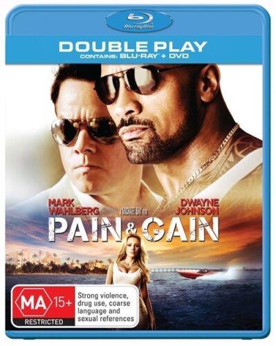 1 of 1 - Pain and Gain - Michael Bay NEW B Region Blu Ray