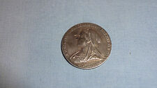 QUEEN VICTORIA, DIAMOND JUBILEE 1897, 26mm SILVER MEDAL BY GW. DE SAULLES Ref 2