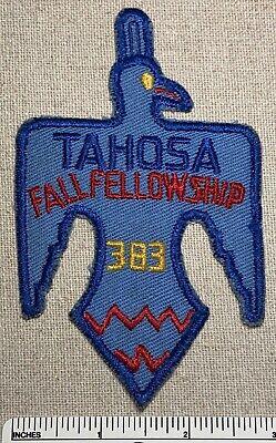 TAHOSA OA LODGE 383 DENVER AREA 2017 JAMBOREE MONTY PYTHON TROJAN BUNNY 2-PATCH
