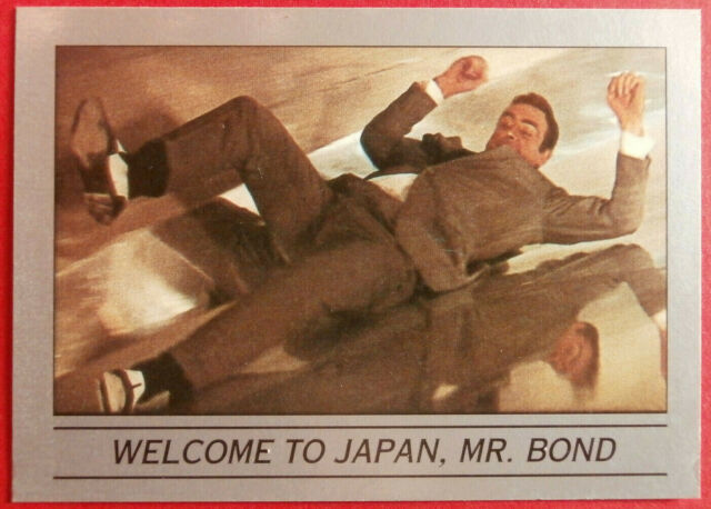 JAMES BOND - You Only Live Twice - Base Card #006 - WELCOME TO JAPAN, MR. BOND
