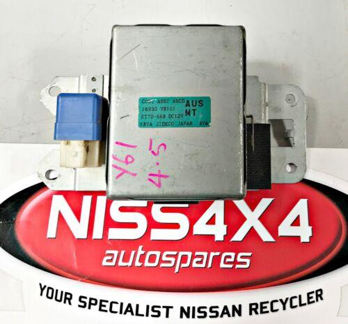 NISSAN PATROL Y61 TB45 CRUISE CONTROL P/N 18930 VB101 SUITS 1997 ...