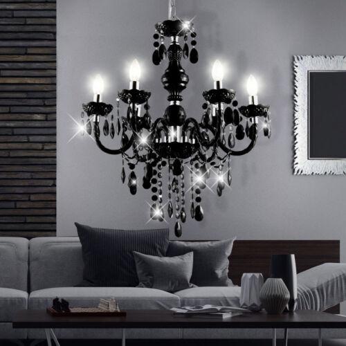 LED Kronleuchter Decken Lampe DIMMBAR Lüster RGB mit Fernbedienung Hänge Leuchte