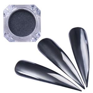 0-5g-Spiegel-Schwarz-Nagel-Glitzer-Pulver-Nail-Art-Chrom-Pigment-BORN-PRETTY