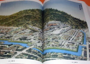 Japanese Famous Castle by Bird's-eye View Illustration book Japanese (0783)