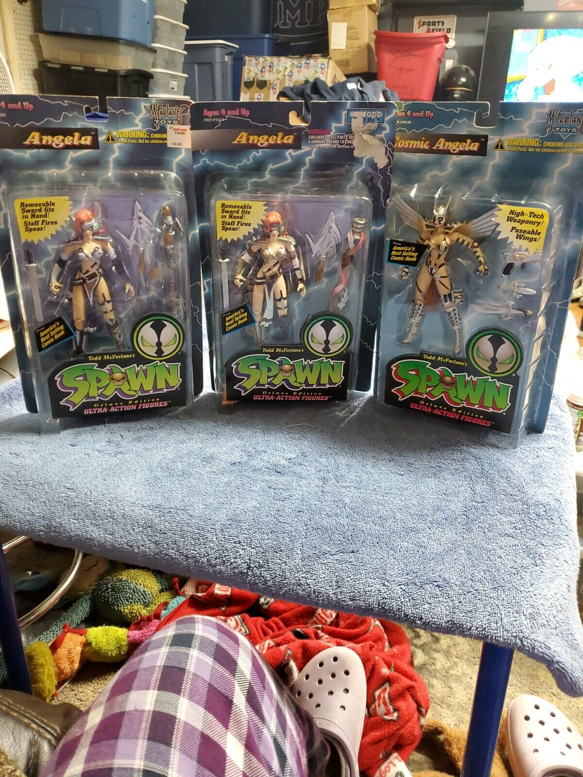 Lot Of 3 Mcfarlane Spawn Angela Deluxe Edition Ultra Action Figures on eBay thumbnail