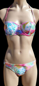 NEW-TAGS-BILLABONG-LADIES-WOMENS-SIZE-8-PARADISE-BIKINI-MOULDED-CUP-UNDERWIRE