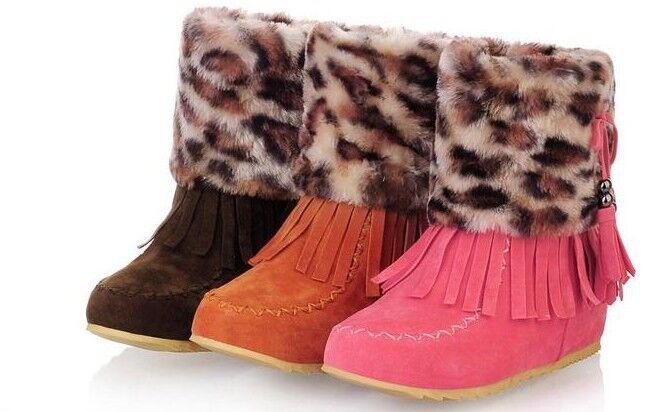 Botines botas zapatos como de tacón mujer perno 3 cm como zapatos piel cómodo caldi 9061 83f75c