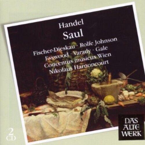 Concentus Musicus Wien - Handel: Saul [New CD] UK - Import