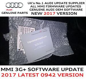 audi a4 a5 q5 q7 mmi 3g plus genuine firmware update 0942. Black Bedroom Furniture Sets. Home Design Ideas