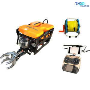 ThorRobotics-Underwater-Drone-4K-View-FPV-ROV-With-Mechanical-Arm-70M-CABLE-LONG