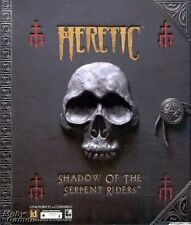 HERETIC Shadow of the Serpent Rider - Vintage Rare Shooter PC Game