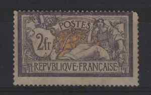 FRANCE-STAMP-TIMBRE-122-034-MERSON-2F-VIOLET-ET-JAUNE-034-NEUF-x-TB-A-VOIR-P951