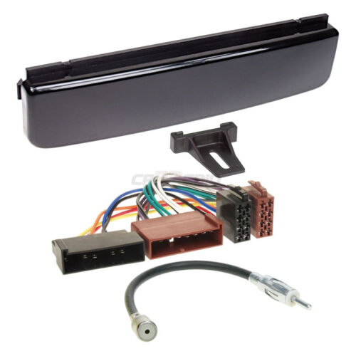 Ford Focus 98-04 1-din radio del coche Kit de integracion adaptador cable radio diafragma alto brillo