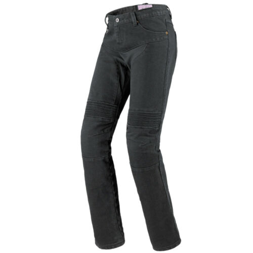 IT 43 Pantaloni Moto Donna MOTORSPORT SPIDI FURIOUS JEANS Nero Misura W29