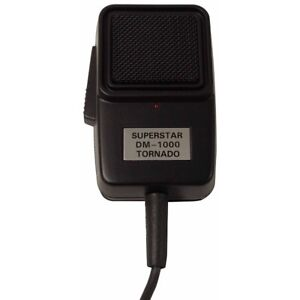 WORKMAN-DM1000-SUPERSTAR-4-PIN-POWER-ECHO-CB-MICROPHONE-WITH-DUAL-CONTROLS