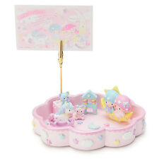 """Sanrio Japan Little Twin Stars """"Dream"""" Stationery Desk Tray Memo Clip"""
