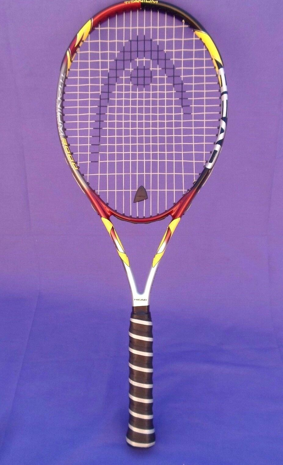 NEW HEAD TITANIUM 3000 CONSTANT BEAM OVER SIZE TENNIS RACQUET 4 1 2-4 GRIP