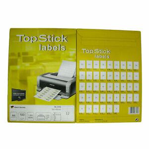 TOP STICK Universal Etiketten 70 x 36 mm weiß 2.400 Etiketten