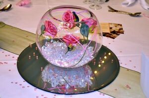 Fish Bowl Wedding Centerpiece For Event Decor Hire Only