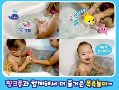 PINKFONG Baby Shark Bath Play Swimming And Singing With Pinkfong Korean Version