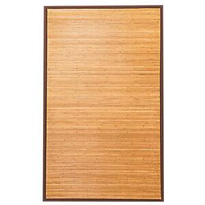 5-039-X-8-039-Bamboo-Area-Rug-Floor-Carpet-Natural-Bamboo-Wood-Indoor-Outdoor-New