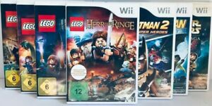 Wii Lego Spiele (Harry Potter 1-4 & 5-7,Star Wars Saga,Karibik) *BLITZVERSAND*