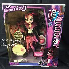 Monster High Ghouls Rule Draculaura Doll Brand New NIB Halloween 2012