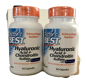 Doctor's Best Best Hyaluronic Acid with Chondroitin Sulfate X 2 Bottles