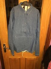 Paul Smith Men's Oversized Pullover Shirt  Medium New With Tags