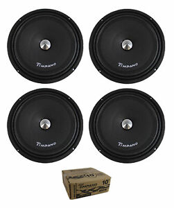 Timpano TPT-MB10 Slim 10 4 Ohm 400W Mid Bass Loudspeaker Single