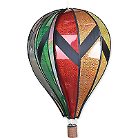 "Sunset Gradient PD25761 Premier Designs 26/"" Hot Air Balloon Wind Spinner"