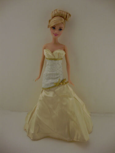 Gold Princess Gown Made to Fit the Barbie Doll