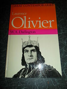 Great-Contemporaries-LAURENCE-OLIVIER-By-W-A-Darlington-Illustrated-1968