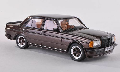 Mercedes Benz 280 E (W123) AMG  marron Metallic  (Neo Scale 1 43   45535)