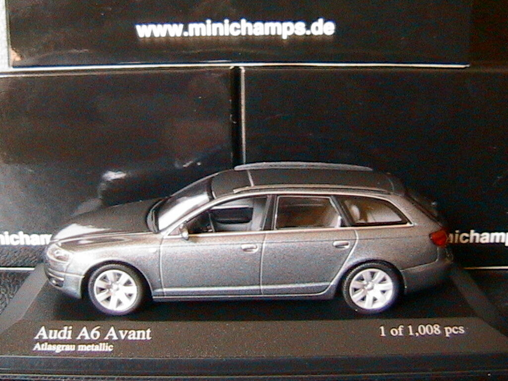 AUDI A6 AVANT 3.2 2006 C6 ATLASgris METALLIC MINICHAMPS 400013011 1 43 KOMBI