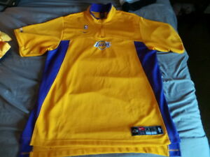 a7107638070 Image is loading Vintage-Nike-Los-Angeles-Lakers-Authentic-Warmup-DriFit-