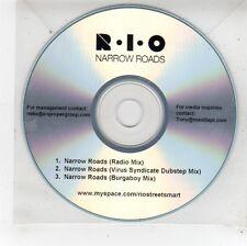 (FU169) R.I.O, Narrow Roads - DJ CD