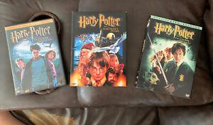 Harry-Potter-3-Movie-DVD-Set-Sorcerer-Stone-Prisoner-Azkaban-Chamber-Secrets