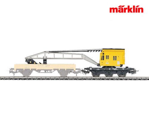 Märklin 4671 kranwagen móviles con manivela