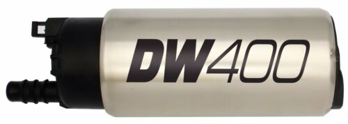 NEW DeatschWerks E85 415LPH In-Tank Fuel Pump Universal Install Kit F90000285
