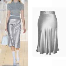 22 momme Heavy weight Silk Skirt Bias cut Long Skirt  Size 2 4 6 8 10 12 14 16