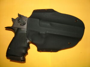HOLSTER COYOTE KYDEX FITS DESERT EAGLE 357 44 MAG 50 AE MAGNUM REASEARCH