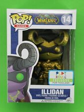 FUNKO POP GAMES WORLD OF WARCRAFT #14 ILLIDAN GOLD~PLAY HOUSE EXCLUSIVE THAILAND