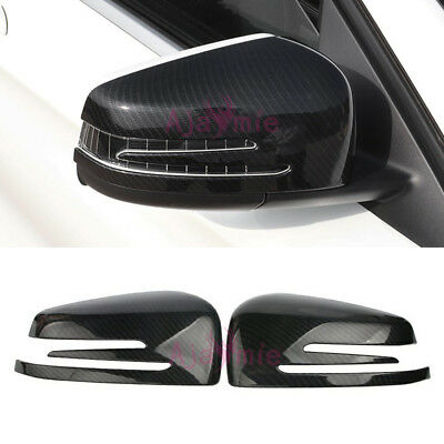 For Mercedes Benz AMG GLA CLA GLK A B Class Rear View Door Mirror Overlay Cover