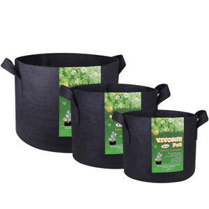 Image Is Loading Vivosun Black Fabric Plant Pots Grow Bag Container